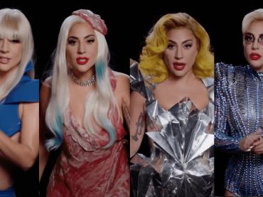 Lady Gaga ripercorre gli iconici look della propria carriera per invogliare gli americani al voto – VIDEO