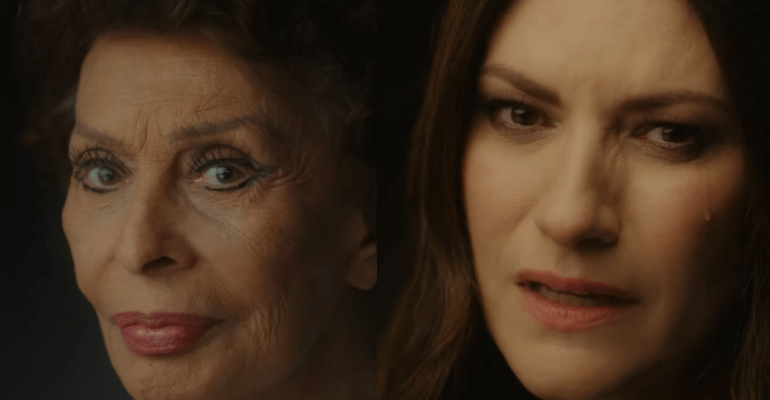 Io Sì (Seen), Laura Pausini canta per Sophia Loren – il video ufficiale da La vita davanti a Sè
