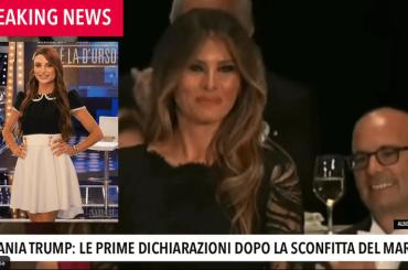 Melania Trump come Franceska del Gf Vip – il video