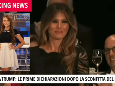 Melania Trump come Franceska del Gf Vip – il video
