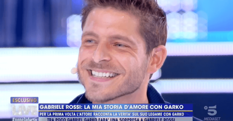 """Gabriele Rossi fa coming out: """"amante di Garko per la prima volta a 19 anni. Oggi ho un altro e sono felice"""""""
