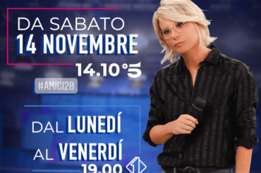 Amici 20, sabato 14 Novembre  il ritorno su Canale 5 (con Lorella Cuccarini?) – è ufficiale