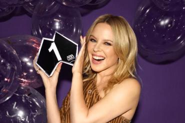 Disco di Kylie Minogue primo anche nella sua Australia