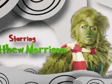 Matthew Morrison è il  Grinch per il musical NBC, il teaser trailer