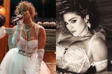 Jennifer Lopez diventa Madonna per Halloween – le foto