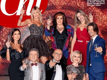 Notte di Capodanno con il GF Vip, la copertina di CHI
