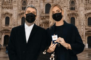 Chiara Ferragni e Fedez hanno ricevuto l'Ambrogino d'Oro, motivazioni e ringraziamenti
