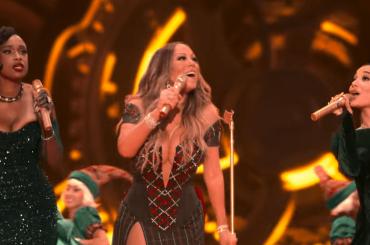 Mariah Carey canta Oh Santa! con Ariana Grande e Jennifer Hudson – il video ufficiale