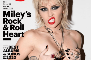Miley Cyrus (nuda su Rolling Stone) canta Doll Parts di Courtney Love – video