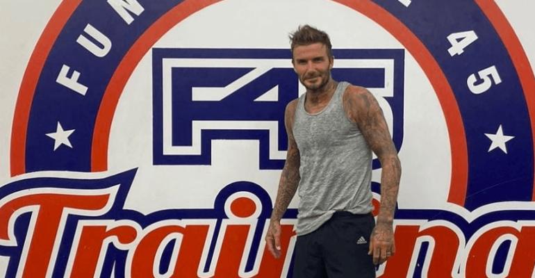 David Beckham sta una bomba, la foto social che lo dimostra
