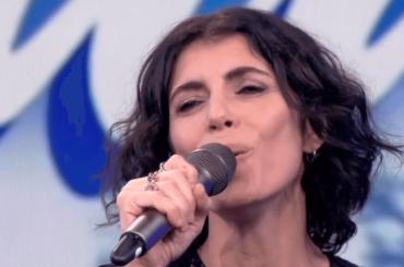 Giorgia canta  Silent Night al Tg1, il video