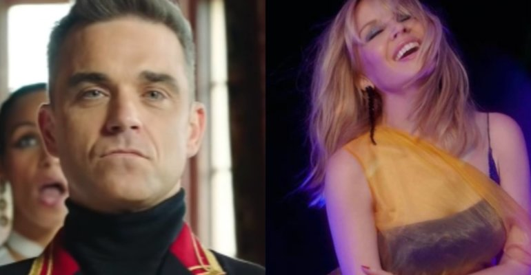Robbie Williams e Kylie Minogue, arriva un nuovo duetto 21 anni dopo Kids?