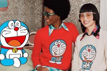 Doraemon, arriva la collezione GUCCI per i 50 anni del gatto robot