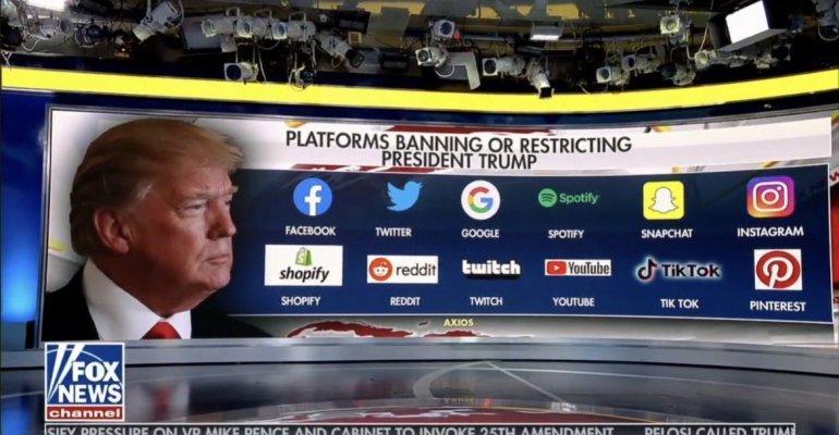 Non solo Twitter e Facebook, ecco tutti i social network che hanno bandito Donald Trump