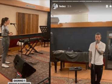 Sanremo 2021, Fedez pubblica per errore su IG pochi secondi del brano con Francesca Michielin – è polemica