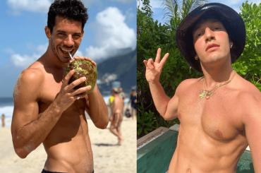 Gabriele Esposito e Andrea Pappalettera, nuove foto social d'amore dalle Maldive