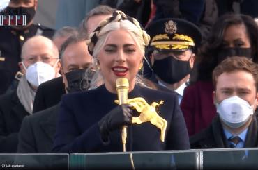 Inauguration Day 2021, Lady Gaga canta l'inno nazionale USA – video