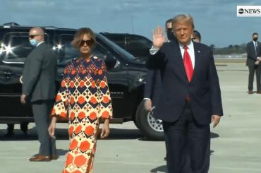 Melania Trump finalmente libera di sfanculare Donald Trump, il video è virale