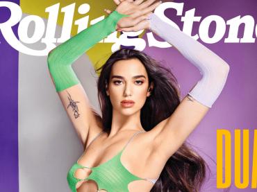 Dua Lipa pazzesca sulla cover di Rolling Stone