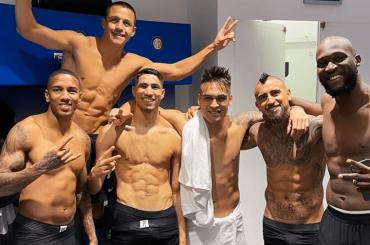 L'Inter schianta la Juve, pacchi da spogliatoio per i nerazzurri