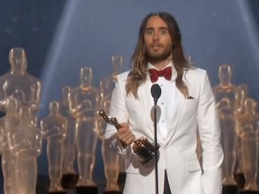Jared Leto non trova più l'Oscar vinto nel 2014 – video