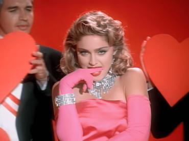 Madonna pubblica il video di Material Girl in HD