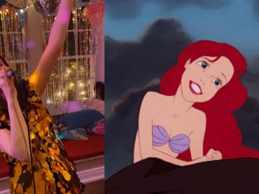 Sophie Ellis-Bextor canta La Sirenetta, il video social