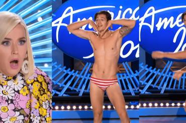 American Idol, Katy Perry scioccata da Mario Adrion, modello canterino in slip – VIDEO