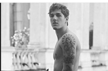 Nicolo Zaniolo in doccia e in mutande per Icon Magazine, le foto
