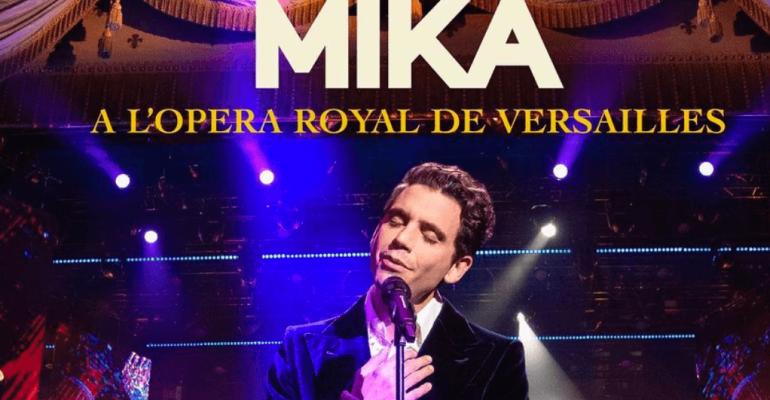A L'Opera Royal de Versailles – ecco il nuovo disco LIVE di Mika, audio