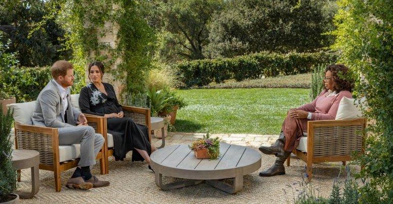 OPRAH con MEGHAN e HARRY, l'intervista andrà in onda su TV8 il 9 marzo – TRAILER