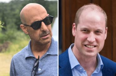 """""""Il Principe William pelato più sexy del mondo""""? Stanley Tucci non ci sta"""