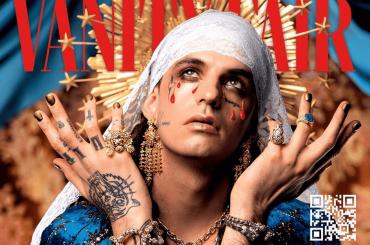 """Achille Lauro Madonna piangente su Vanity Fair: """"Un artista che supera gli stereotipi"""""""