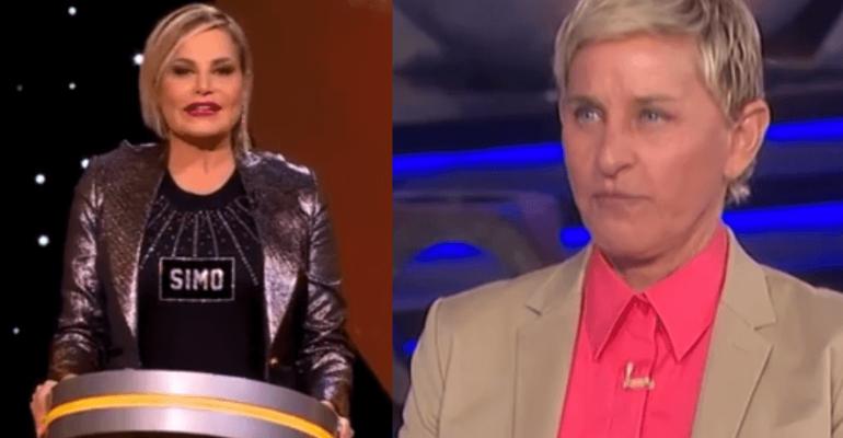 """Simona Ventura, la pronuncia del nome """"Ellen DeGeneres"""" è già cult – video"""
