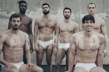 Yamamay Man, atleti in mutande: da Niccoló Gitto a Edoardo Giorgetti, le foto social e il video