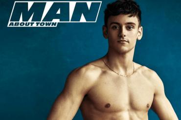 Tom Daley show per Man About Town Magazine, le foto