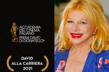 David alla Carriera 2021 a Sandra Milo