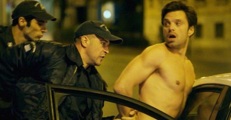 Sebastian Stan tutto nudo, è full frontal in 'Monday' –  foto