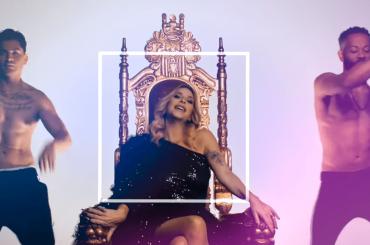 Stefania Orlando regina nel video ufficiale di Babilonia
