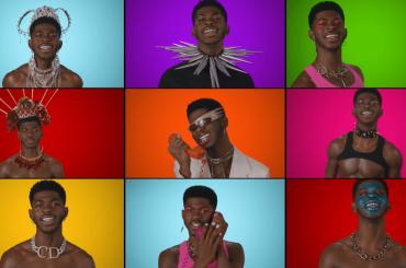 """Lil Nas X canta e fa tutti i suoni di """"Montero (Call Me By Your Name)"""" in un video (alla Grandi Magazzini)"""
