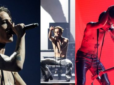 Eurovision 2021, le prime prove dei Maneskin tra una cascata di scintille – video e foto