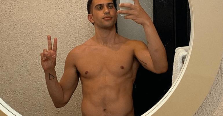 Mahmood nudo, il selfie allo specchio è da sturbo – FOTO