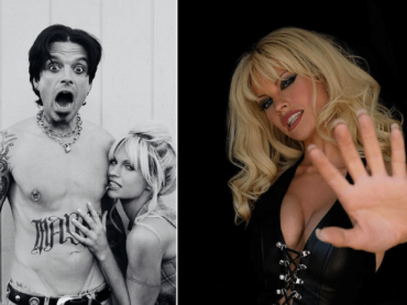 Pam & Tommy, Lily James e Sebastian Stan sono Pamela Anderson e Tommy Lee nella serie HULU – FOTO