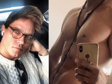 Gabriel Garko, selfie hot tutto muscoli prima della doccia – la foto social
