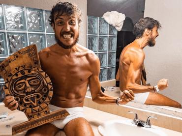 Isola 2021, Awed in mutande celebra il trionfo – ha perso 20 kg in 3 mesi