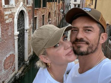 Katy Perry e Orlando Bloom in vacanza a Venezia, le foto social