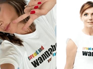 Victoria Beckham sforna la nuova t-shirt Pride: tutte le SPICE la indossano (e tutto andrà in beneficenza) – foto