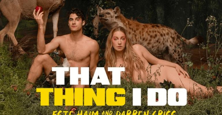 Darren Criss nudo per lanciare il podcast THAT THING I DO