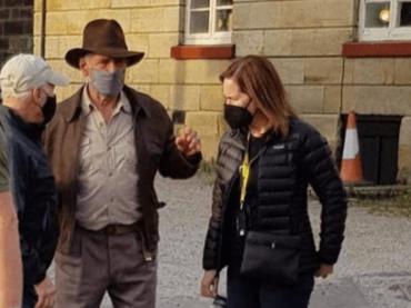 Indiana Jones 5 è realtà, Harrison Ford è sul set – la prima foto social