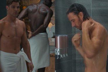 Mike Vogel e Adam Demos nudi in Sex/Life, foto e gif